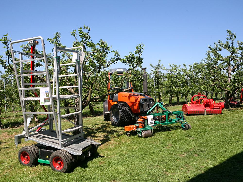 Gerätschaften im Obstbau