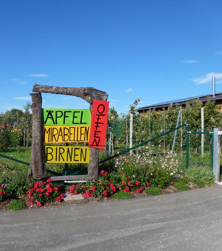 Eingang-Stausee-Obst-Hofladen