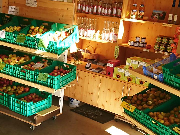 Verkaufsraum Stausee-Obst